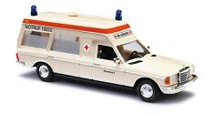 BUSCH 52200 Spur H0 Mercedes-Benz VF 123 Miesen, Krankenwagen BRK Nür  #NEU OVP#