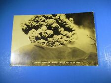 1943 Volcan Paricutin Michoacan Nacio RPPC Used B&W PC38