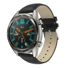 For Huawei Watch GT 2 Strap Crocodile Leather Watch Band 42/46mm