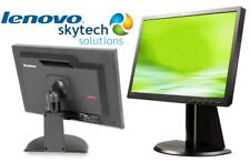 "Lenovo L2240P 22"" HD LCD 16:10 Widescreen CCTV Home Office PC Monitor Screen DVI"