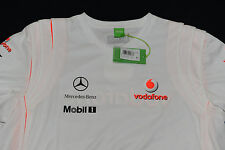 Hugo Boss Vodafone McLaren Mercedes Official Team Shirt Men's Size XXXL