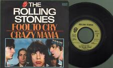 Rolling stones - Fool to cry/Crazy mama