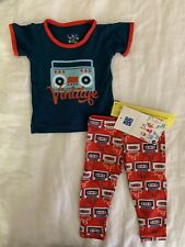 Kickee Pants Pajama Sets In Jazz Cassette Tapes, New