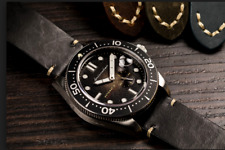 Brand NEW Spinnaker (SP 5058) Black Croft Men's Automatic Watch -SP Rare Leather
