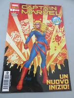 Captain Marvel - Un New Start 1 - PANINI COMICS Italian - New