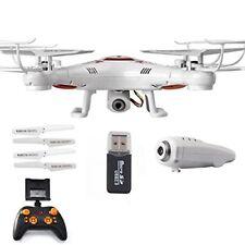 R/C Drone vista cámara HD en vivo - 6-Axis Helicóptero Quadcopter Gyro explorar Diversión