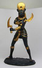 Ancient Egyptian Sculpture Warrior Goddess Lioness Sekhmet Decoration Figurine