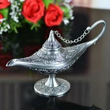 Pewter Plate Tea Pot Vintage Style With Side Handle For Home Decorations Or Gift