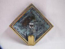 Dortmund Germany Souvenir Brass Ashtray with Crest Vintage