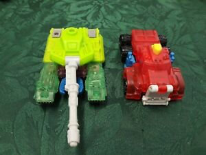 Transformers Armada Megatron and Optimus McDonalds Happy Meal Toys