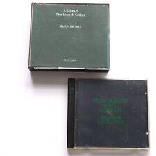 Keith Jarrett 4 CD Bach French Suites & Solo Concerts Bremen Lausanne ECM Jazz