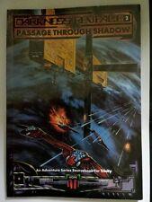 Trinity pasaage par shadow science fiction science-fiction rpg jeu de rôle Livre