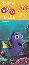 PROGRAMME DU CINEMA VEO TULLE - LE MONDE DE DORY - 2016 DEPLIANT