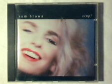 SAM BROWN Stop! cd WEST GERMANY PDO