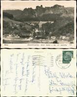 Ansichtskarte Rathen Stadt, Fähranleger 1941 Walter Hahn:3998
