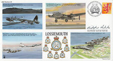 RAFS18d 67th Anniv RAF Lossiemouth Signed Cdr C.M.Nickols Station Commander