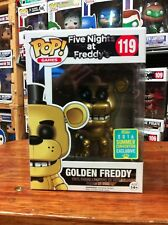 SDCC 2016 Five Nights at Freddys Golden Freddy Pop Vinyl Figure