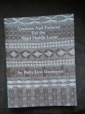New ListingTextures and Patterns For the Rigid Heddle Loom, by Betty Linn Davenport
