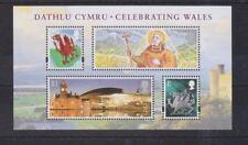 "GB.  ""Celebrating Wales"" MNH  Mini Sheet.  PRESENTATION PACK 424"