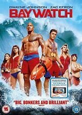 Baywatch DVD + digital download  with Alexandra Daddario New (DVD  2017)