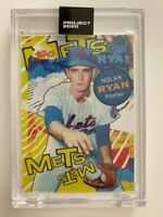 Topps Project 2020 Nolan Ryan Artist Tyson Beck #263 PR 2,649 New York Mets HOF
