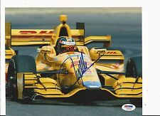 RYAN HUNTER-REAY HAND SIGNED COLOR 2015 INDY CAR 8X10 W/ PSA COA Y60895