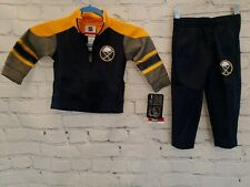 Buffalo Sabres Official NHL Toddler Track Suit Set Jacket and Pants 4T Brand NEW