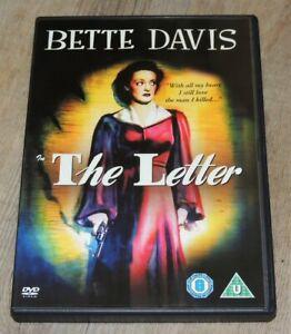The Letter - Bette Davis PAL DVD