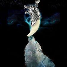 Men Jewelry Titanium Steel Wolf Tooth Necklace Domineering Pendant Fashion