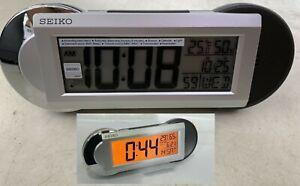 Seiko QHL071S Thermo Hygro Meter Beep / Bell alarm Volume Min/Max Light calander