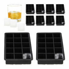 10 x siliconen ijsblokjesvorm - herbruikbare siliconen vorm - ijsklontjes 3.5 cm