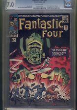 Fantastic Four #49 CGC 7.0 Universal grade 1966 Marvel 1st full Galactus