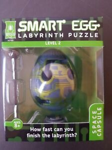 BePuzzled Smart Egg Labyrinth Puzzle Space Capsule Level 2 NEW