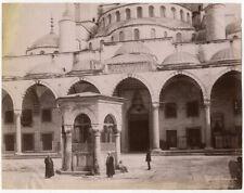 Photo Albuminé Sebah Joaillier Turquie Constantinople Fontaine Vers 1870/80