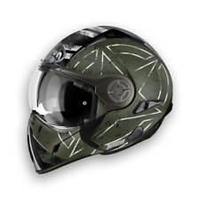 (#6718z#) Airoh Casco per Moto J106 Command Verde 54