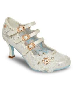 Joe Browns Couture Cinderella Ivory Bridal Mary Jane Pearl Brooch UK3-9 EU36-42