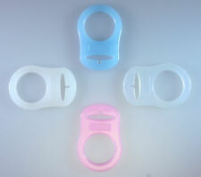 MAM Style Silicone Dummy Adapters - Ring - Clip