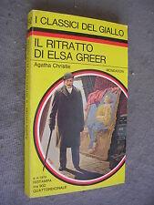 CLASSICI GIALLO MONDADORI # 292 - AGATHA CHRISTIE - IL RITRARRO DI ESLA GREER