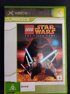 LEGO Star Wars the Video Game, Classics Microsoft Original Xbox Game, CIB, VGC