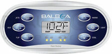 Spa Topside Panel Balboa Revolution TP600 Jets, Aux, Flip, Warm, Light, Cool