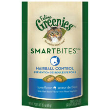 GREENIES - Smartbites Tuna Flavored Hairball Control Cat Treats - 2.1 oz. (60 g)