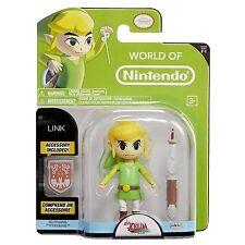 """Zelda LINK World Of Nintendo 4.5"""" Figure Super Mario"""