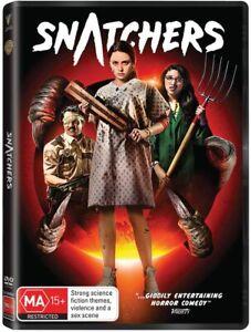 BRAND NEW Snatchers (DVD, 2020) R4 Horror Comedy Movie