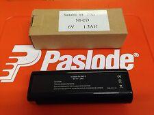 BATTERY FOR PASLODE NAIL GUNS 6V 404717 1.3AH NI-CD