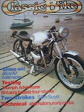 Classic Bike 11/83 BSA M20, M21 & A7, Silk v Scott,Triumph Adventurer 500 Test