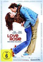 LOVE,ROSIE-FÜR IMMER VIELLEICHT - LILY COLLINS, SAM CLAFLIN -  DVD NEU