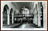The Parish Church of St. Michael, Newquay, Cornwall. Post Card