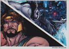 2011 Marvel Universe Parallel Base Card #54 Civil War - Issue #1