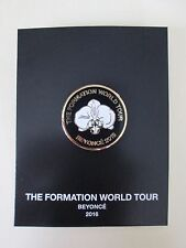 New Auth Beyonce Formation World Tour Merch Orchid Commemorative Round Pin Badge