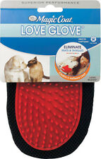 Four Paws Magic Coat LOVE GLOVE Dog Cat Grooming Mat & Tangle Fur Hair Remover